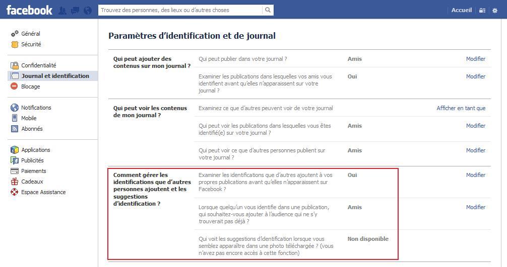 Désactiver la reconnaissance faciale sur Facebook